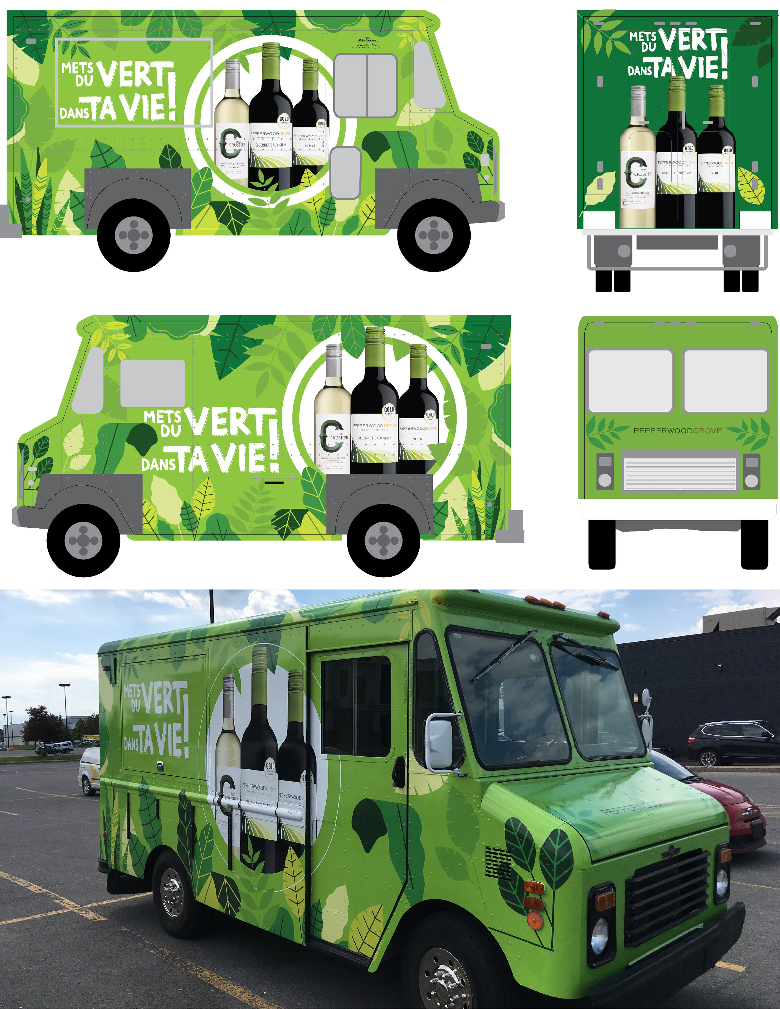 Green in your Life Life Wine Truck