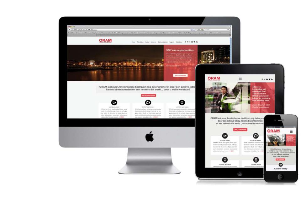Oram website