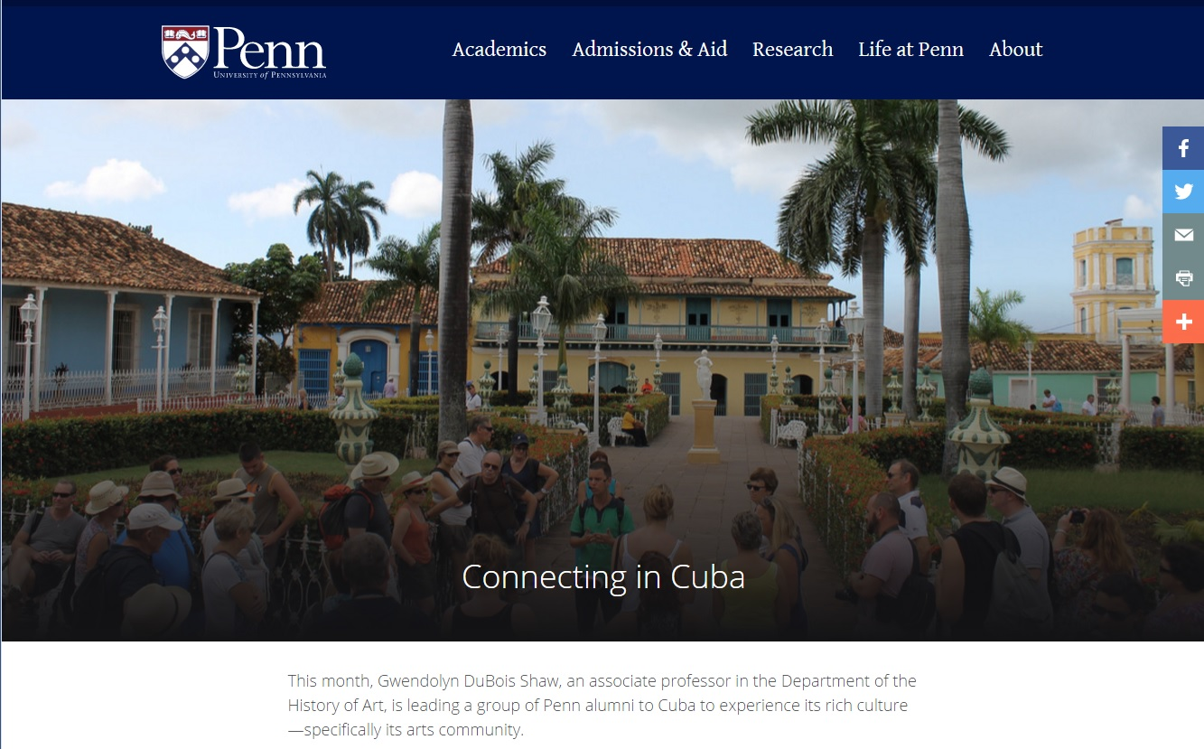 Connecting in Cuba