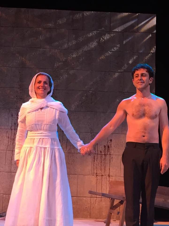 """Sinners"", curtain call, with Nicole Ansari"