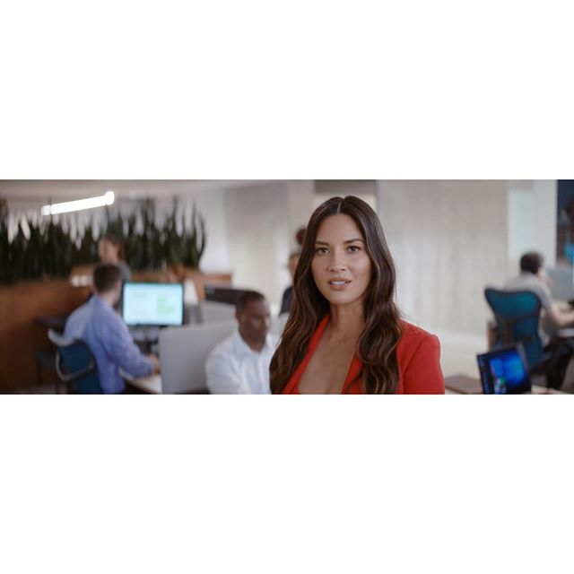 @lenovo commercial w/ @oliviamunn  Director: @alenotta  Producer: @jetcitymuse Shot on: #masteranamorphic