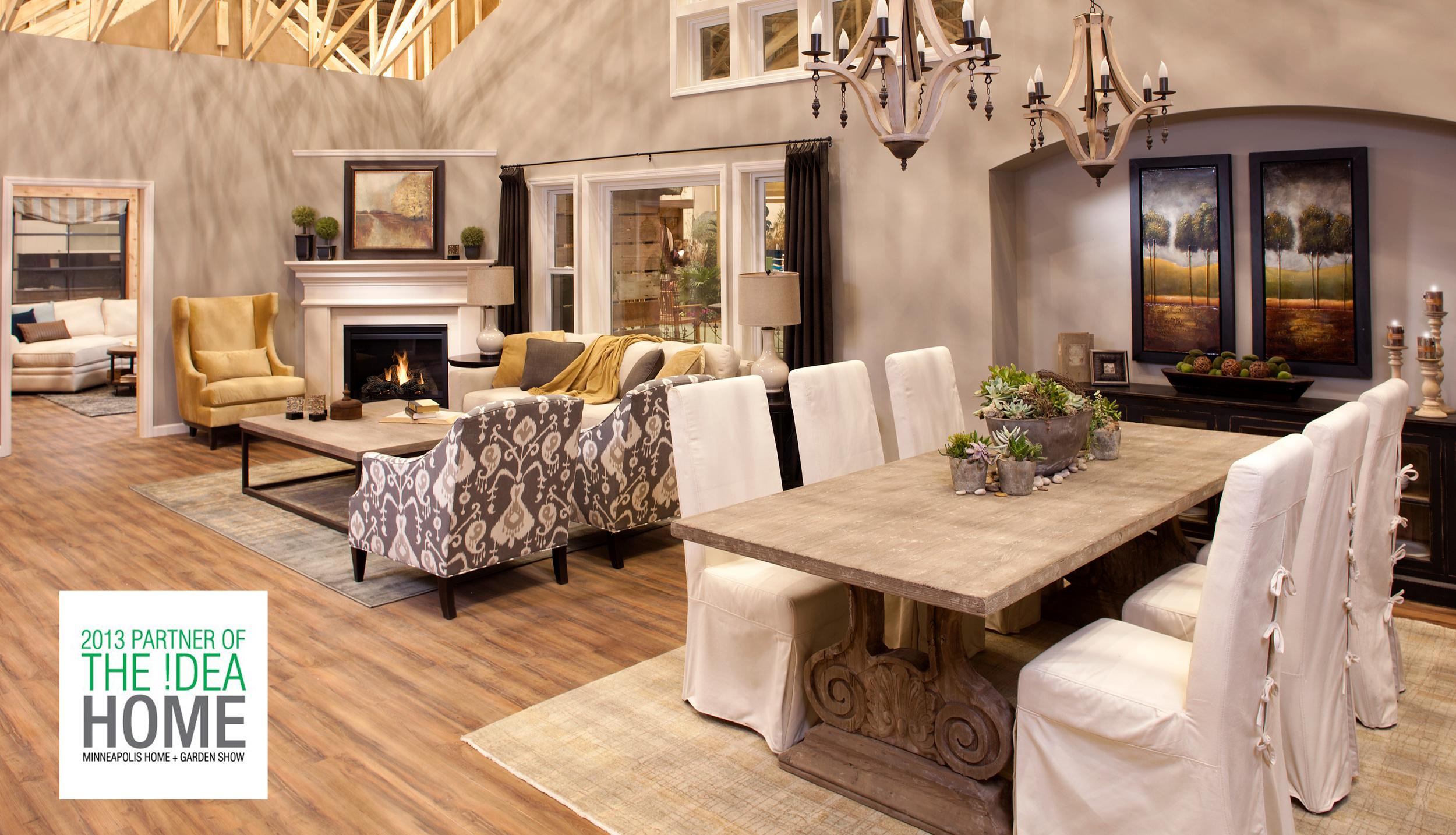 """""""Idea Home"""" Rachel Kate Design Home & Garden Show Featured Home"""