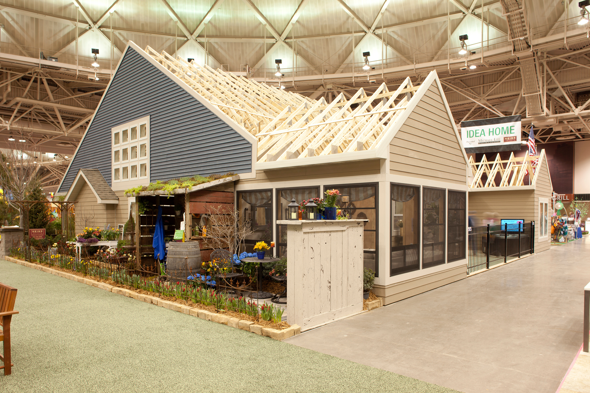 Idea Home built in 3 days for the Spring 2013 Home& Garden Show MPLS