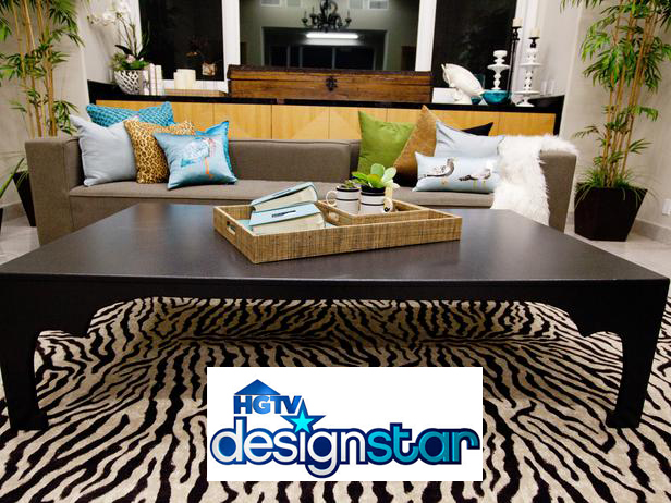 Coffee table designed by Rachel Kate. Image property of Scripps Network, all rights reserved.