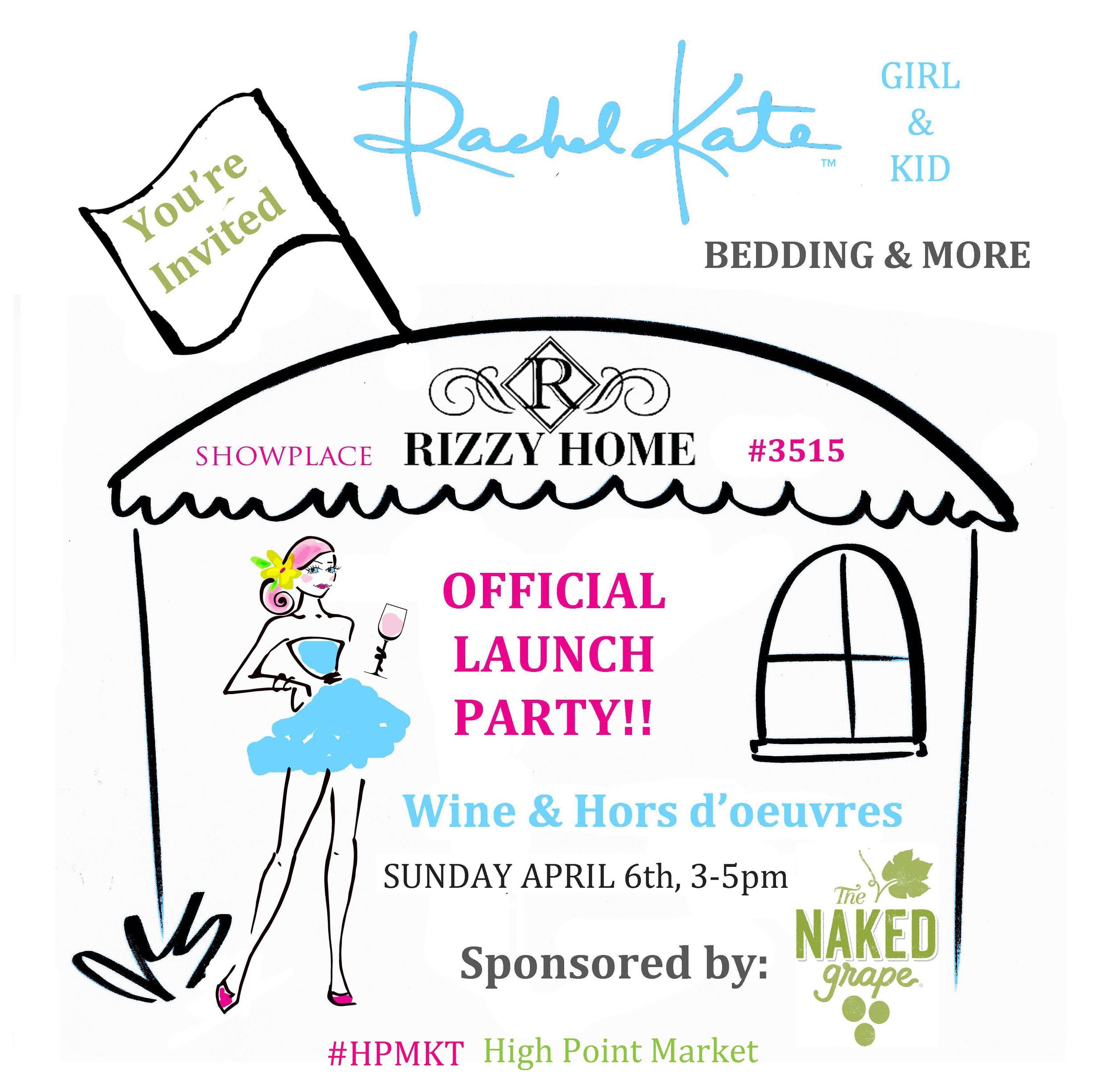 Rachel Kate Beddig Launch