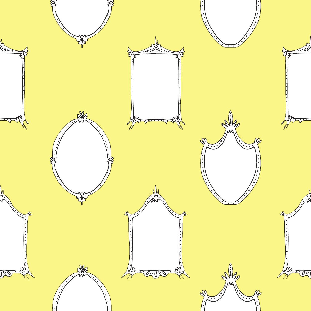 Mirrors - Yellow