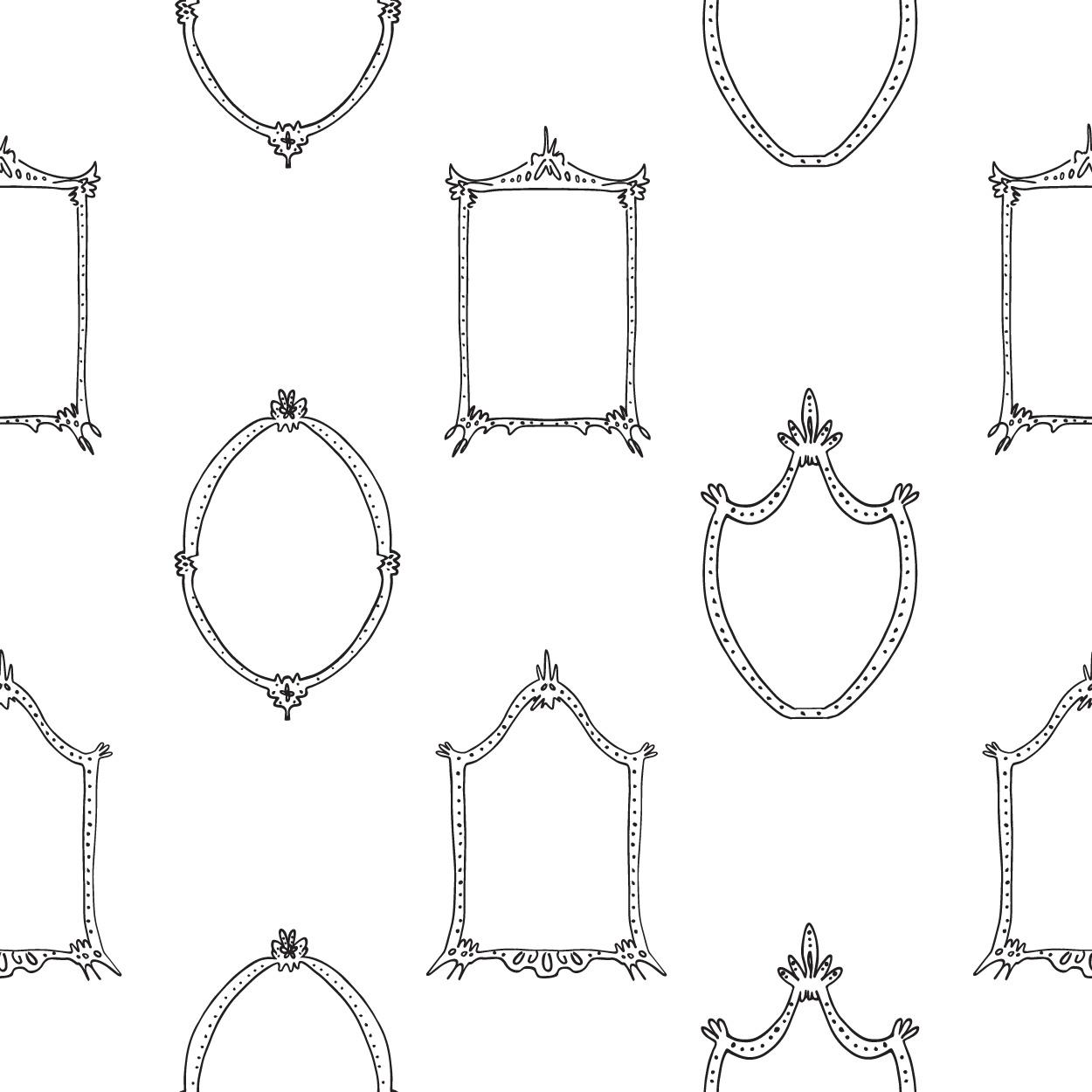 Mirrors - Black & White