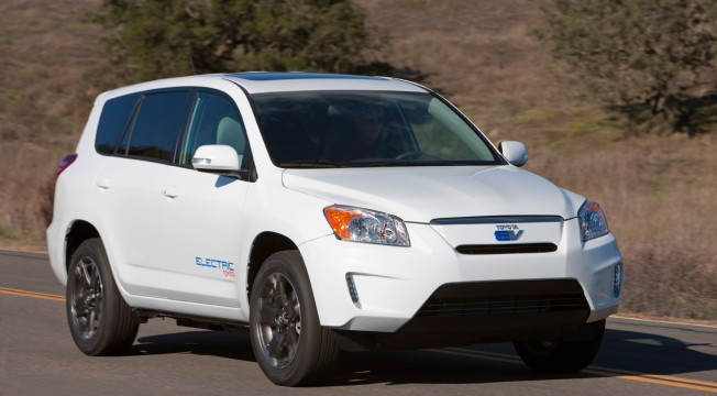 The Toyota RAV4 EV is scheduled to be released in 2012. It's just one of dozens of EVs hitting the market by 2015.