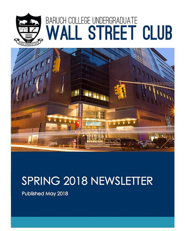 We are proud to present to you our Spring 2018 newsletter! Thank you for an amazing semester. We look forward to seeing you in September. Follow the link in our bio to check out what we have accomplished this semester and our vision for the future. :) goo.gl/z2d4bt #BaruchWSC