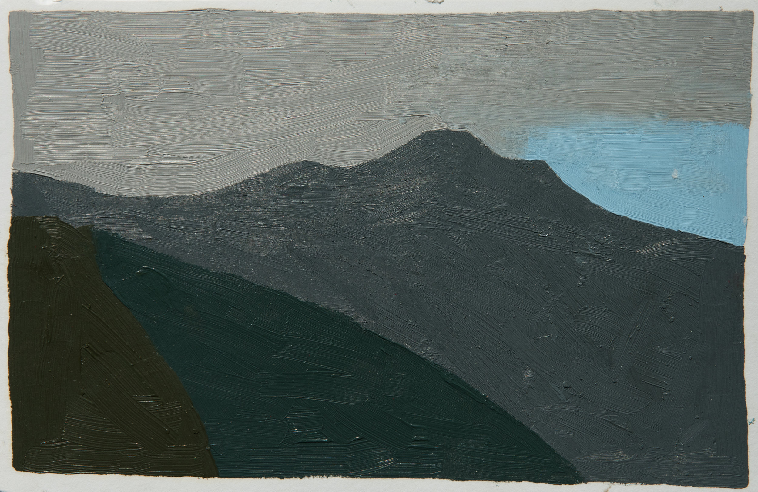 mt tam 1_5.5 x 8.5 inches_oil on paper_2018.jpg