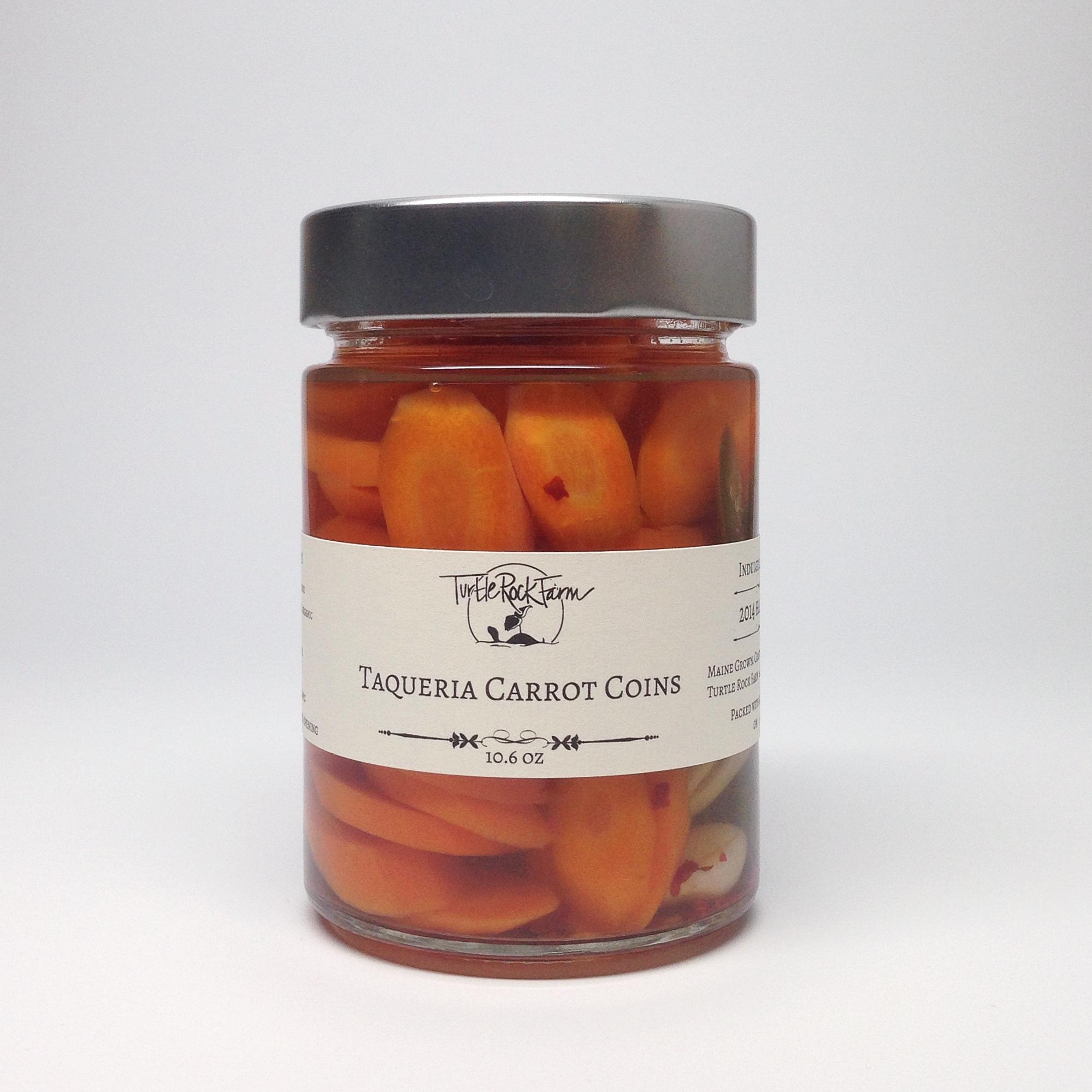 Taqueria Carrot Coins
