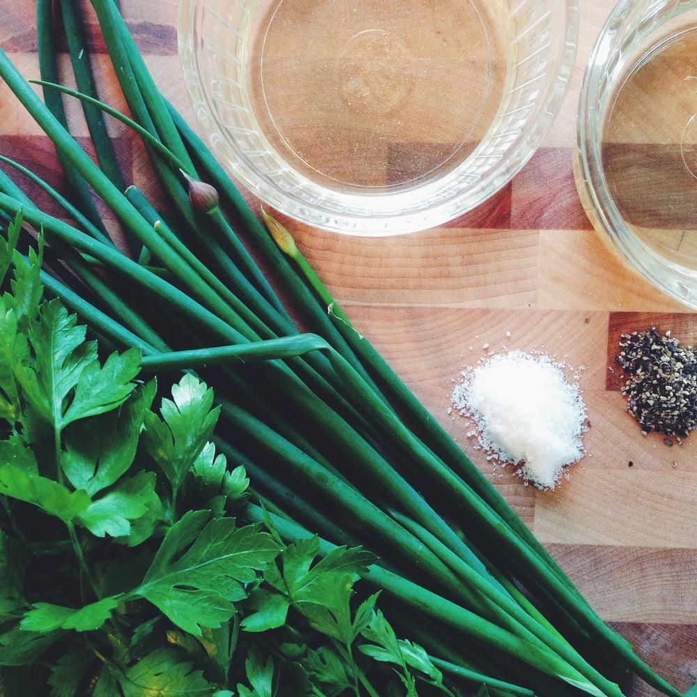 Spring Herb Vinaigrette