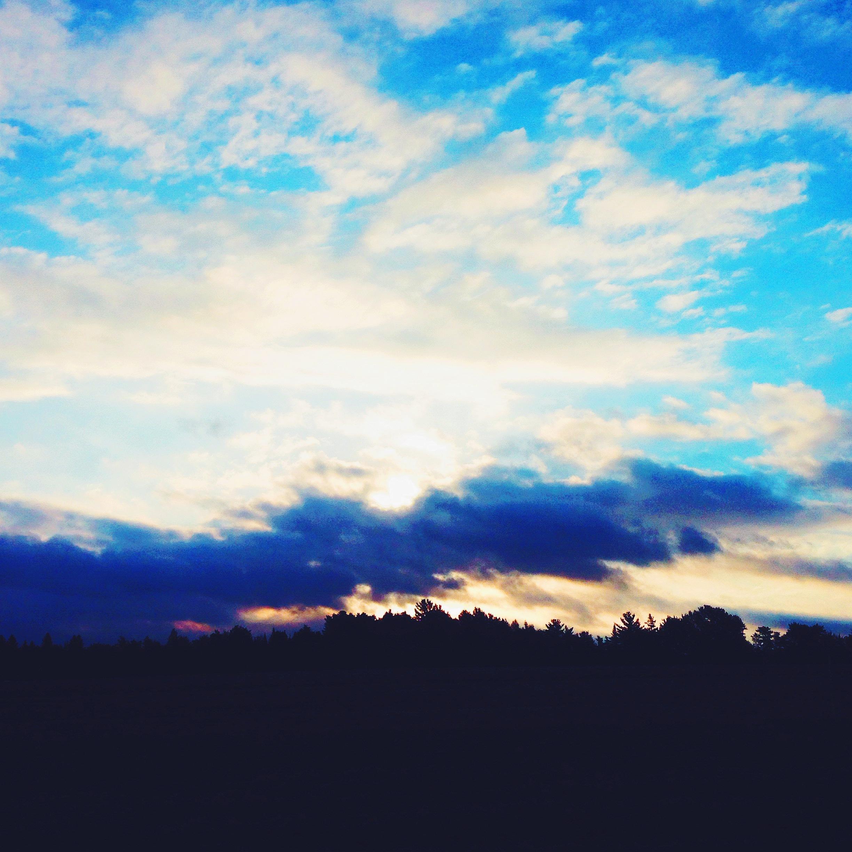 Equinox Sunrise at the Common Ground Fair