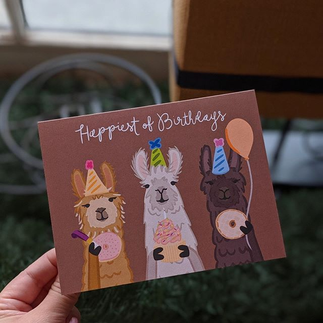 new cards in! 🦙🥳