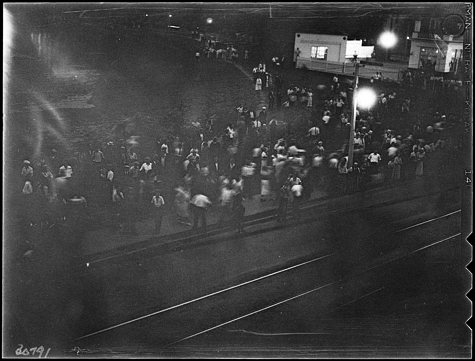The only photo of the 1933 riot in Christie Pits