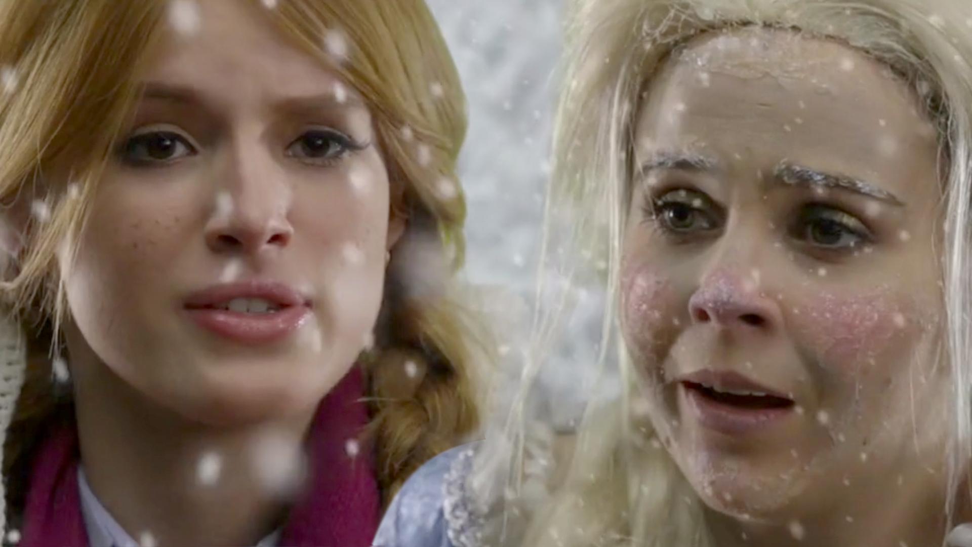 LIVE ACTION FROZEN - Featuring Mae Whitman & Bella Thorne