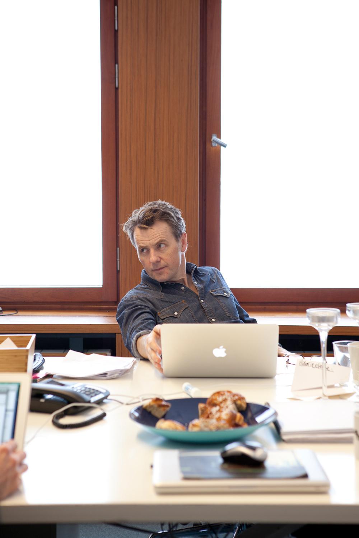 Fredrik Skavlan, Norwegian tv host (Monocle)