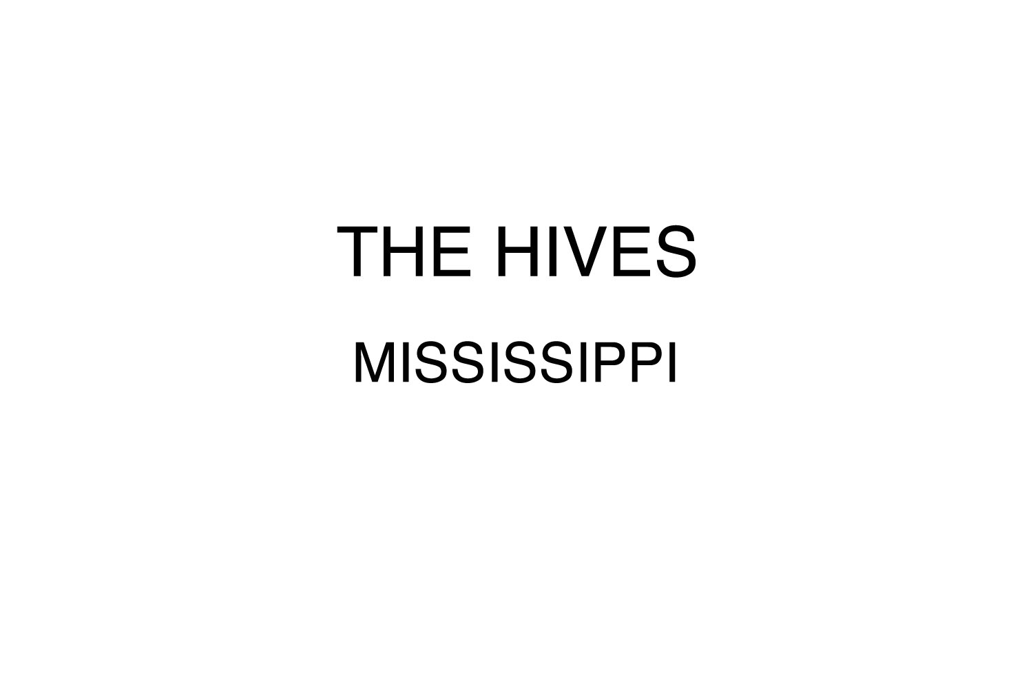 """The Hives recording """"The Black and White album"""", Oxford, MS."""