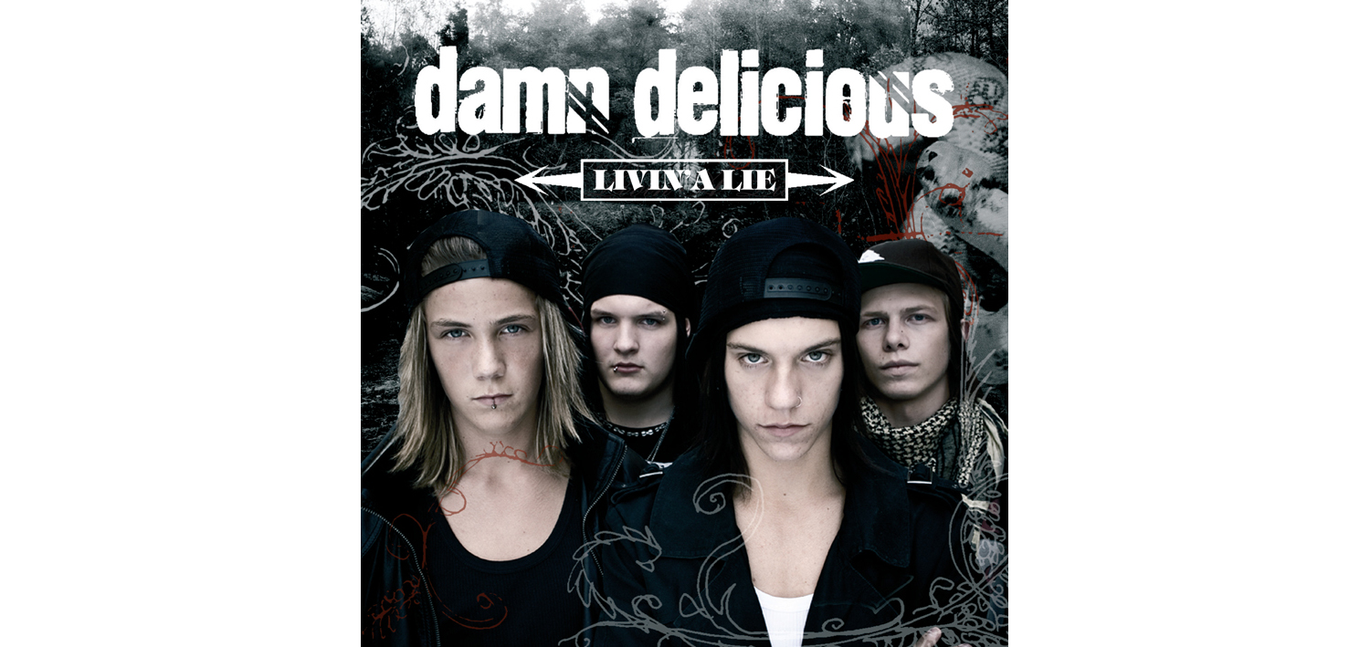 CD: Damn Delicious (Lionheart Music)