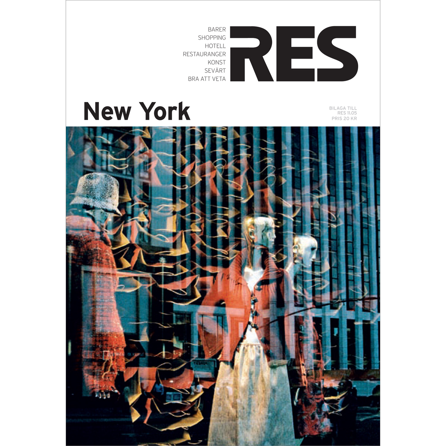 New York travel guide (RES magazine)