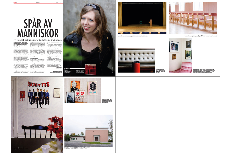 ETC magazine (2013, portrait by Johanna Norin)