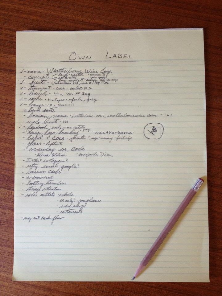 Make lists. Cris Carter = lists.