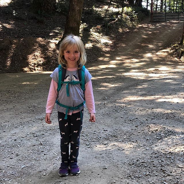 I always do one last backpacking trip before harvest. First time with Noelle! #lostcoast #babyunicorn #backpackingwithkids