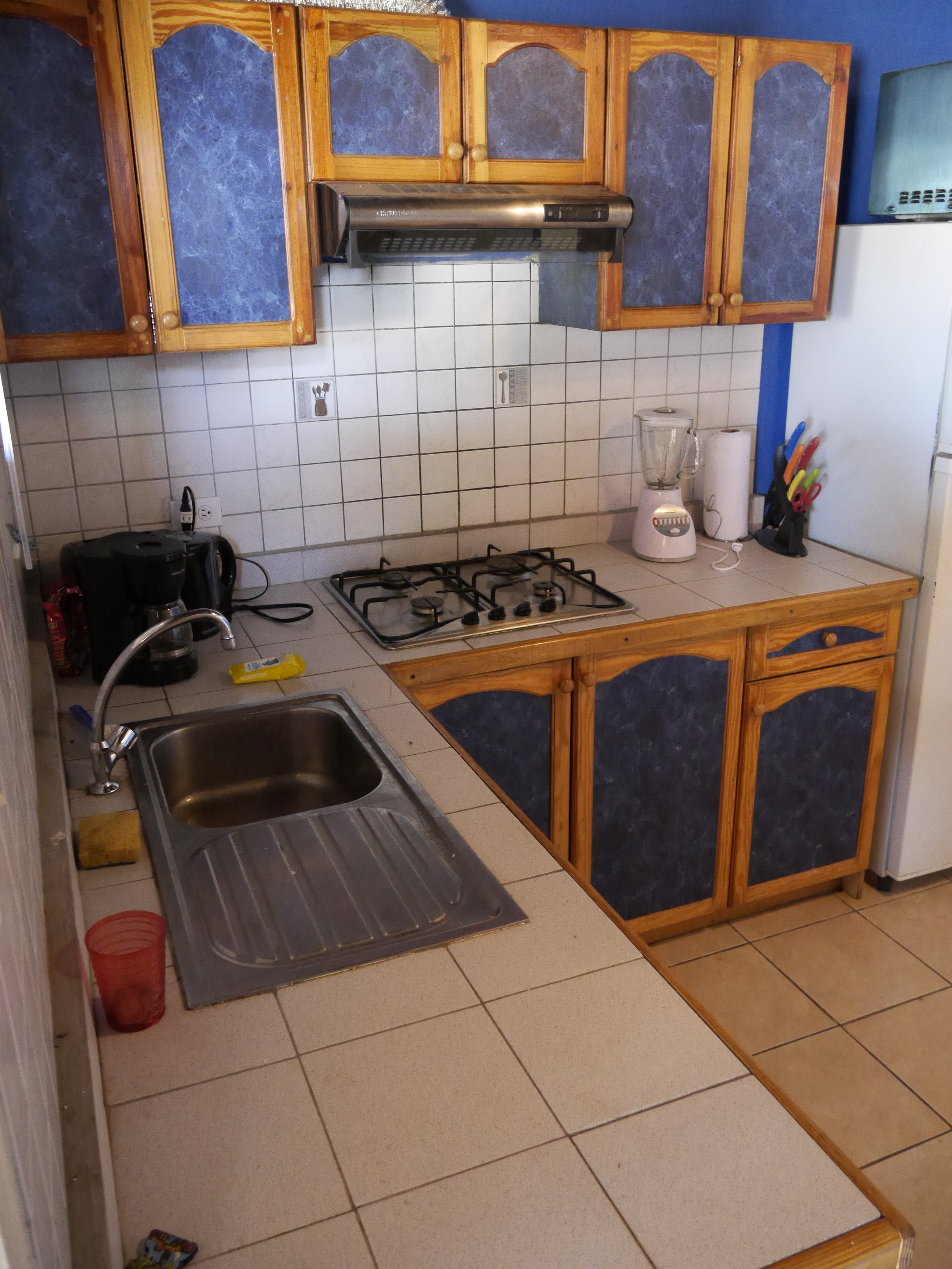 Kitchen well furnished and equipped.