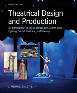 Featured scenic design on book cover, 2012