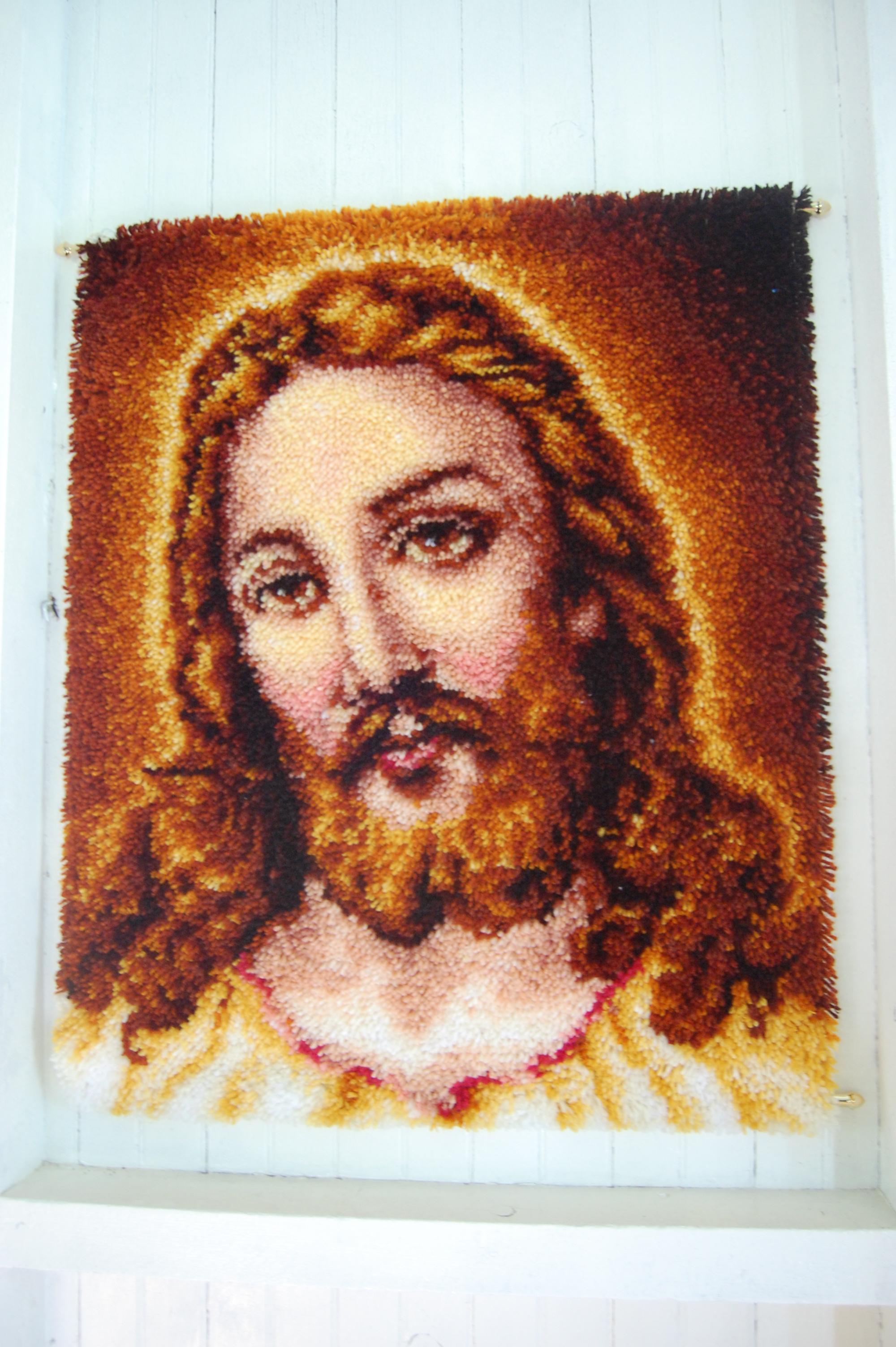 ... told ya. Latchhook Jesus.