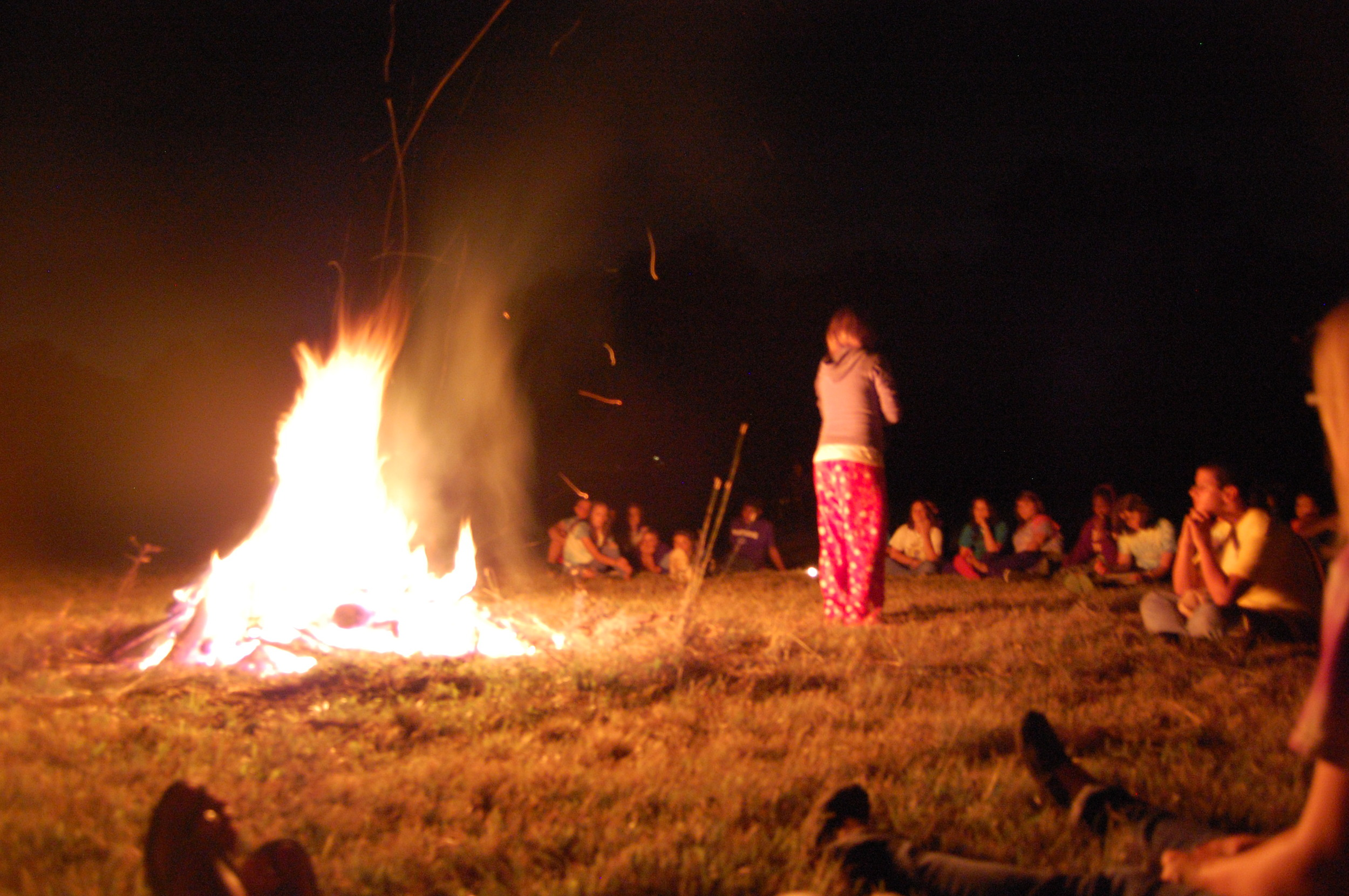 End of Camp Bonfire