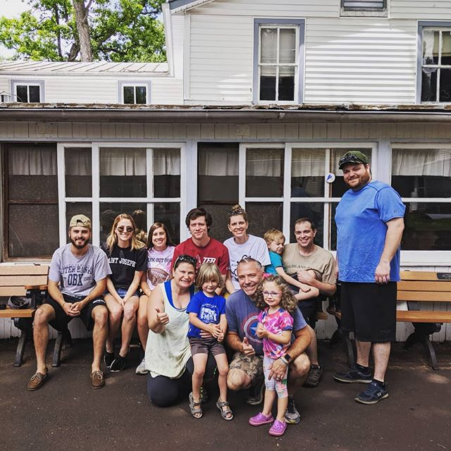 Huge thanks to this crew for cleaning the Tabernacle today! We are summer ready!!