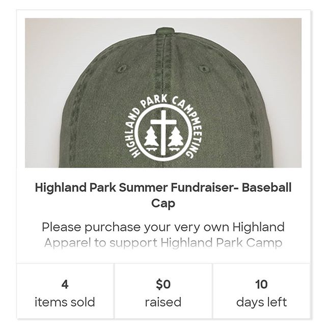 Campers! You asked for hats and water bottles and none of you have ordered any!! There's only a little over a week left to grab your Highland water bottles, hats and v-neck shirts. If you're not familiar with Custom Ink, we actually HAVE to sell a certain number of each item in order to actually get them. I believe we've already hit the number of shirts we need, but we need to reach 7 water bottles and 26 hats in order for them to go to print. It was originally 15 hats but because our logo requires extensive embroidery they had to up the number.  So all that to say, if you were planning on or considering ordering anything, please do so ASAP! Not only will you be acquiring some great Highland items, you'll also be helping others to get theirs too. Any questions let us know!