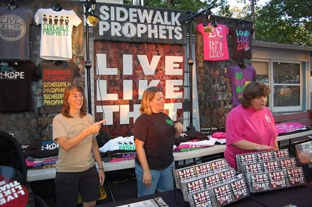Facebook reminded me that it's been seven years (how?!) since our @sidewalkprophets concert. Such a wonderful night with amazing memories.