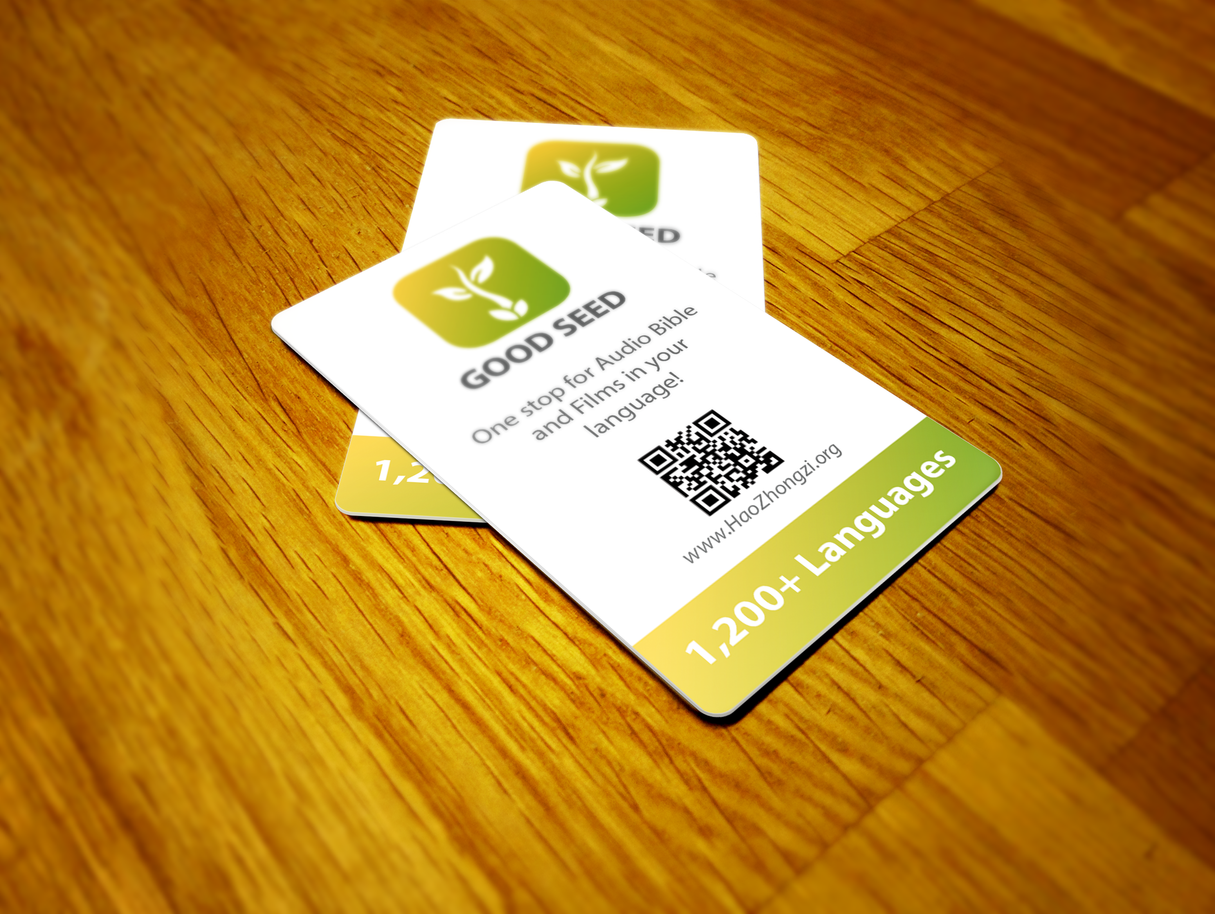 The App Buisness card