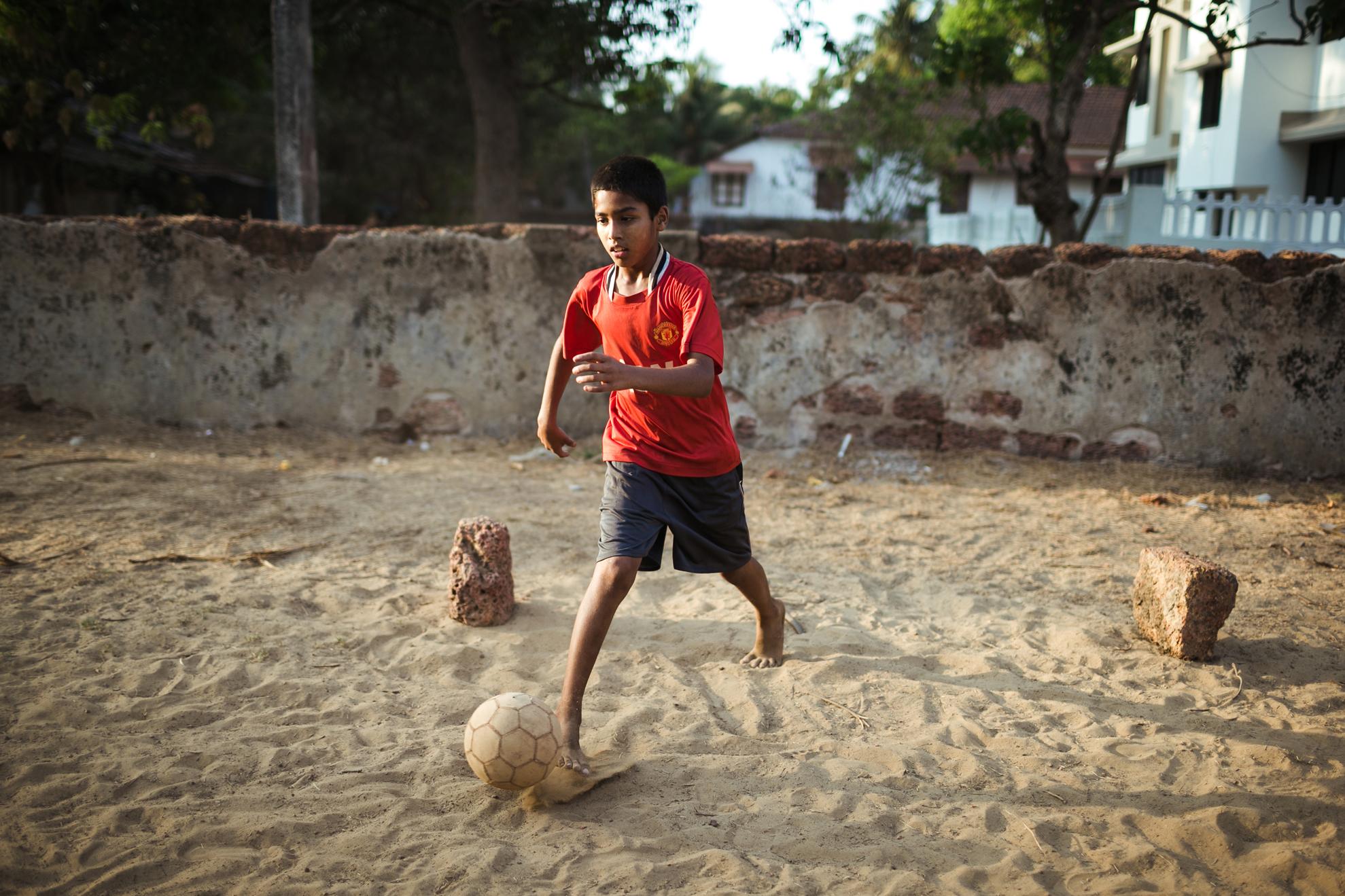 indian street football