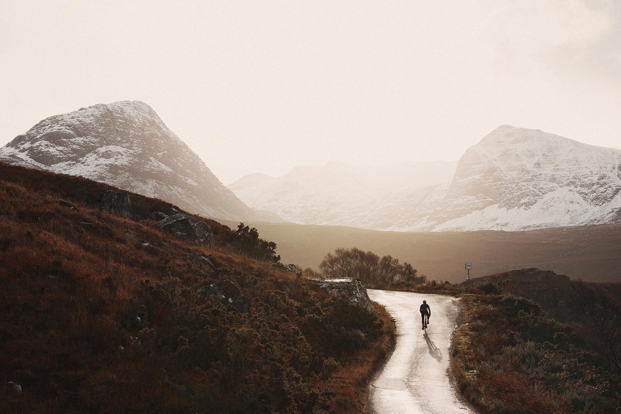 Scottish Cycling landscape