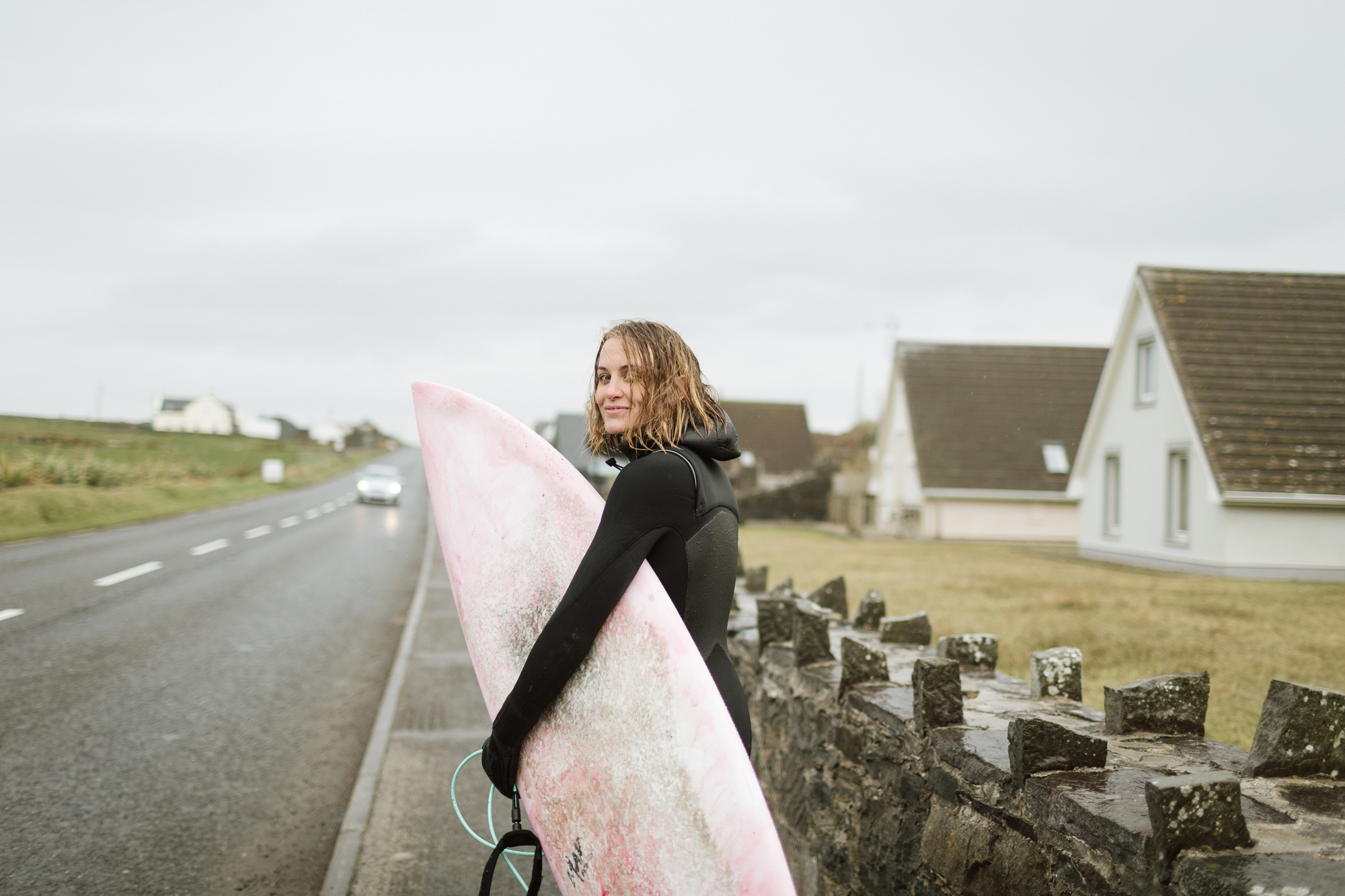 Cold Water surfers in ireland