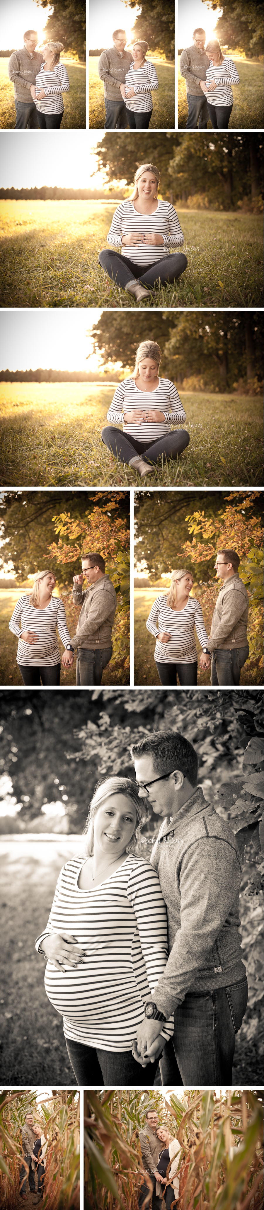 Macomb County Michigan Maternity Photographer