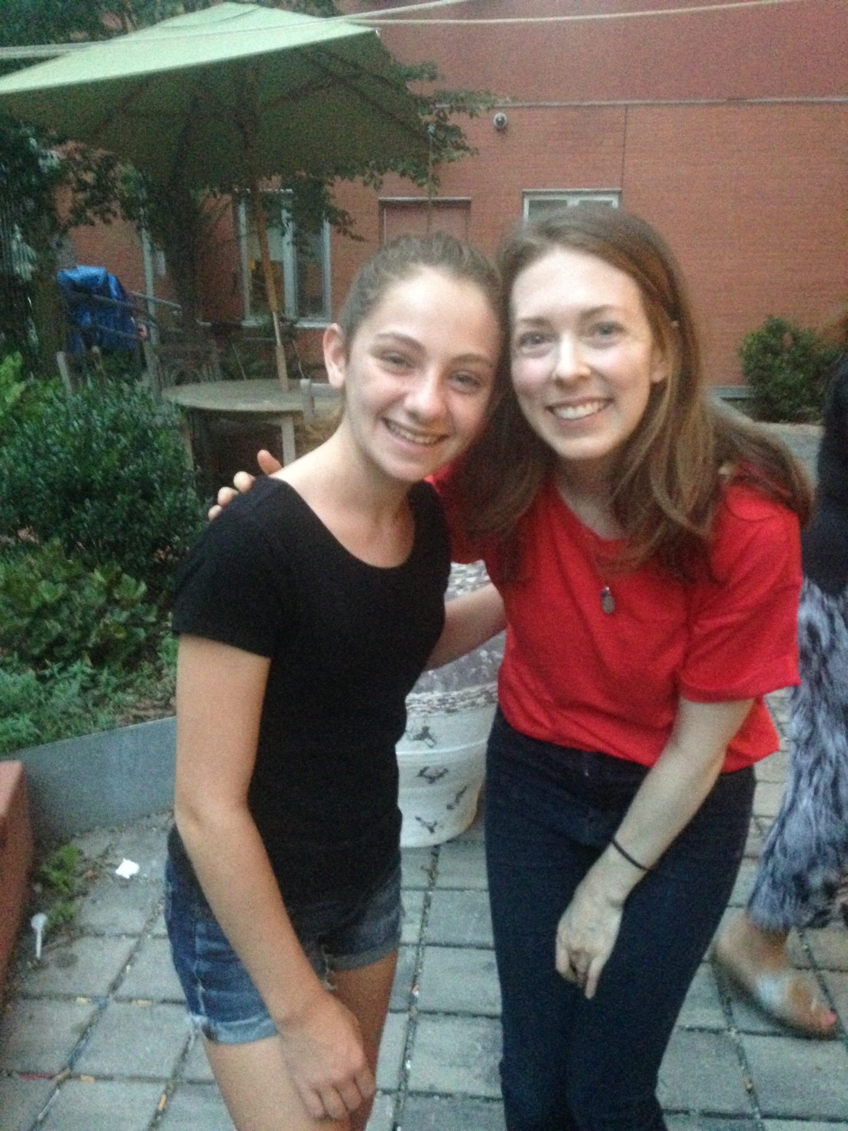 Julie and Erin!