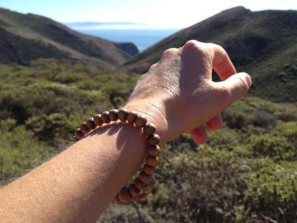 My wrist mala is a daily reminder to practice compassion and loving-kindness.