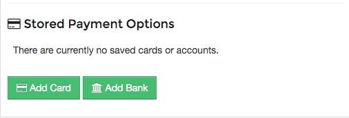 2. Select Add Bank