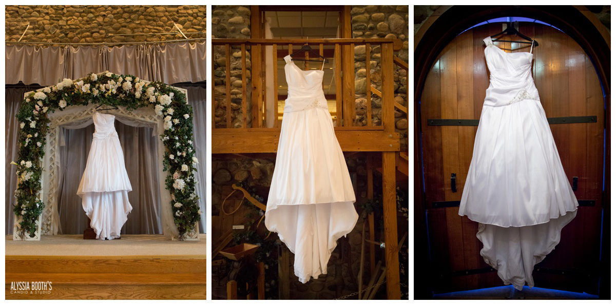 The Dress | Marisa & Garrett 10.23.15 | Wedding at the Lawton Community Center | Kalamazoo Mi