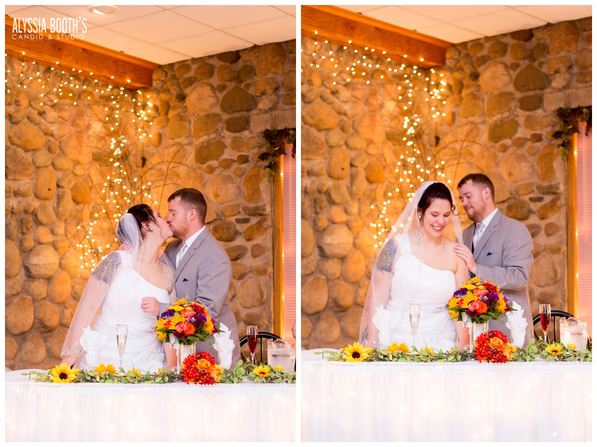 Marisa & Garrett 10.23.15 | Wedding at the Lawton Community Center | Kalamazoo Mi | Alyssia Booth's Candid & Studio
