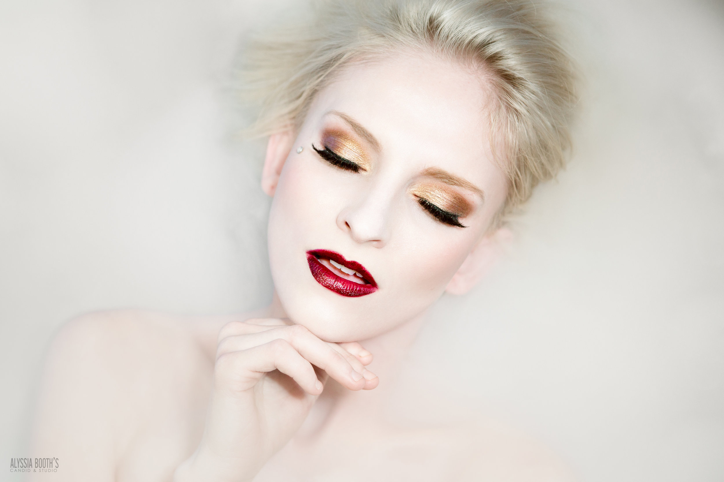 Dry Ice Photoshoot | Makeup test | Alyssia Booth's Candid & Studio | Michigan Photographer