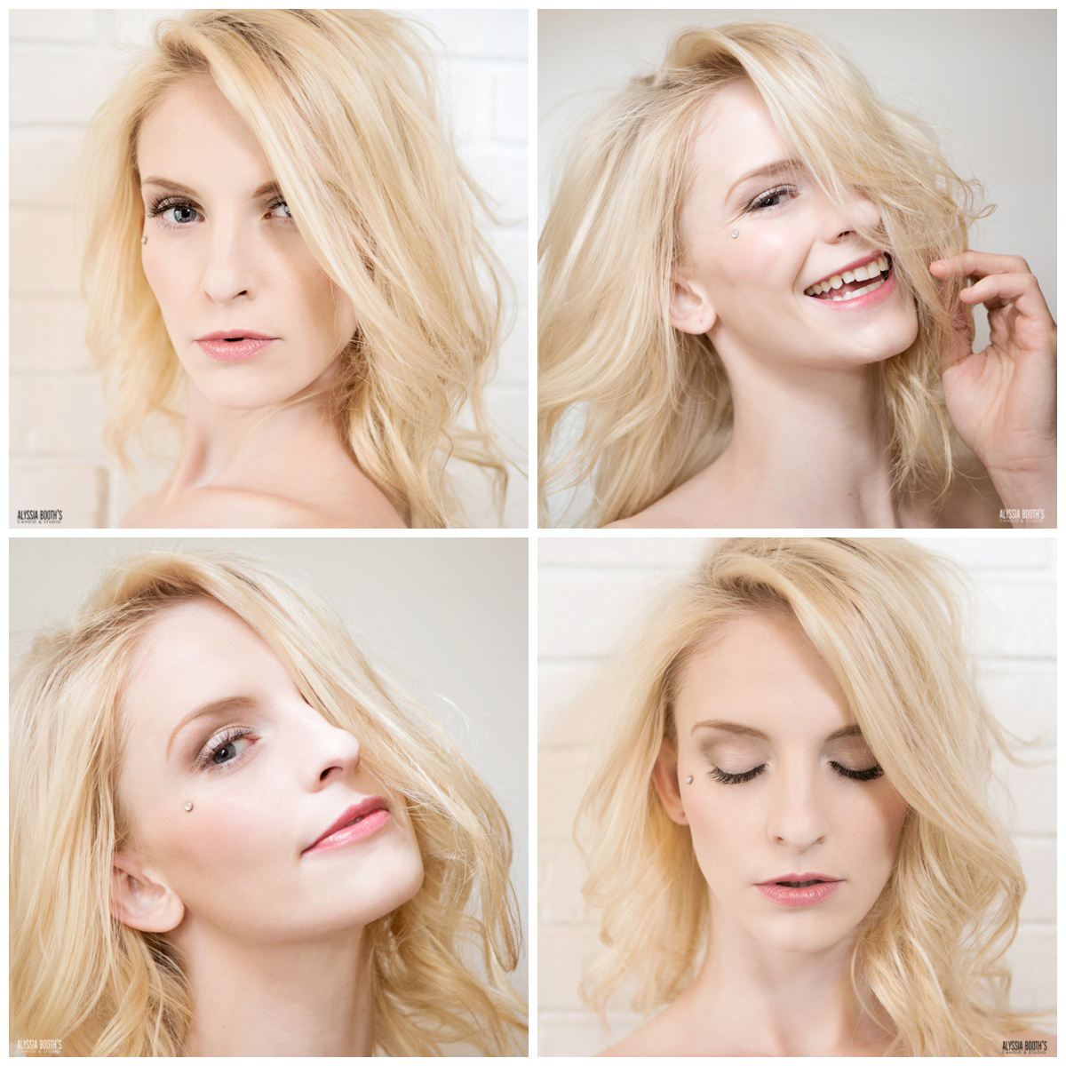 Natural look makeup | Pink lip | Makeup Test | Lashes | Amy Lewis Makeup | Alyssia Booth's Candid & Studio | Test Shoot