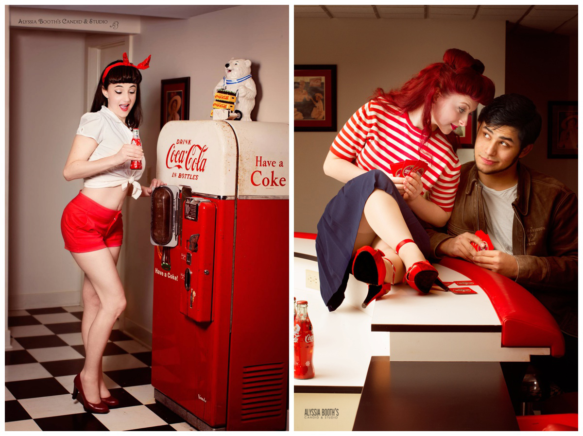 Coke Bar Shoots | Pinup | Alyssia Booth's Candid & Studio | East Lansing MI