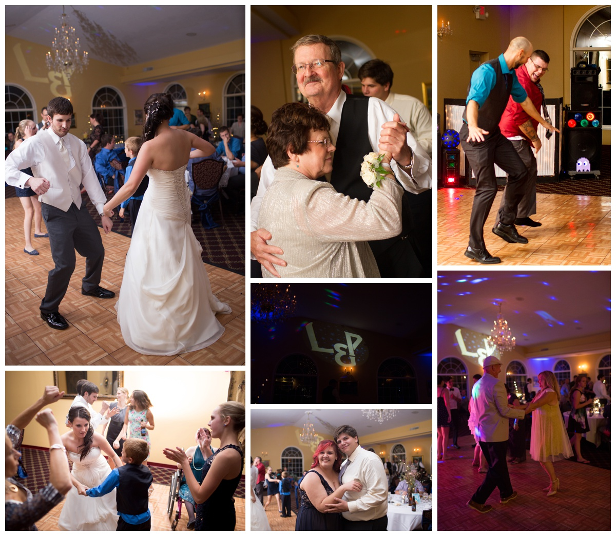 Wedding Dancing Wedding Celibration | Michigan Wedding Photography | Alyssia Booth's Candid & Studio