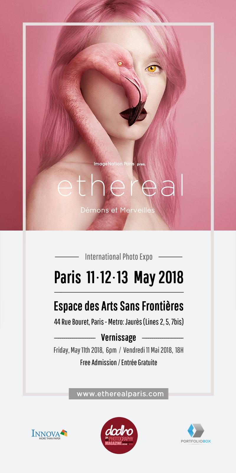 ethereal | Paris, France |  Demons et Merveilles | Alyssia Booth | International Photo Expo