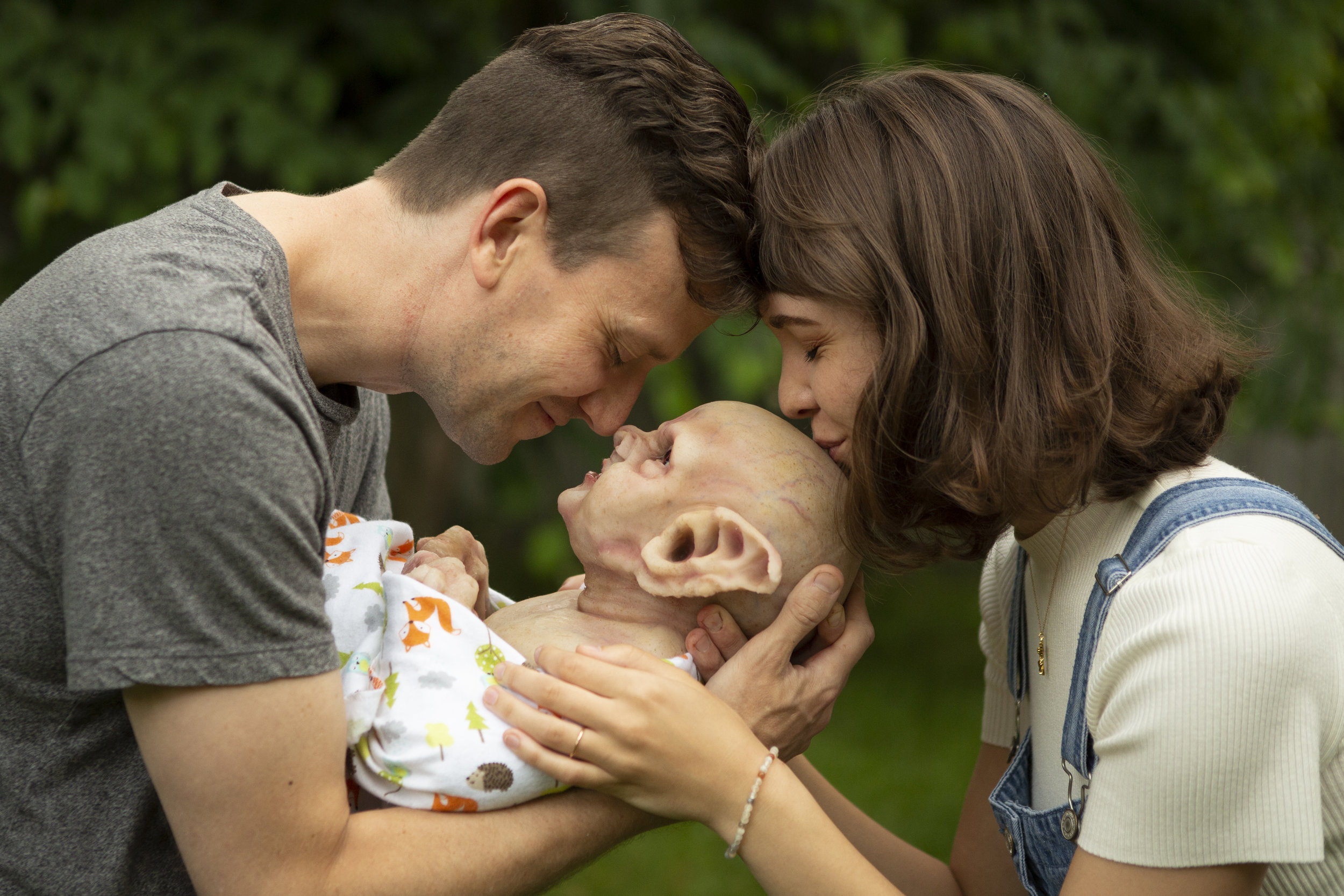 Family | Newborn Vampire  | Newborn photoshoot | Ravendark Creations Vampire Baby | Newborn Photoshoots | Alyssia Booth's Candid & Studio | www.abcandidstudio.com